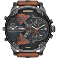 Wholesale Steampunk Watches Men - Luxury Top Brand Men's Sports Watches Fashion Casual Quartz-Watch Steampunk Men Military Wrist Watch Male Relogio Clock DZ7332 dz watches