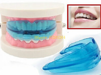 Wholesale Dental Teeth Alignment - 50pcs lot DHL Fedex Free Shipping Professional Dental Tooth Teeth Orthodontic Appliance Trainer Alignment Braces Mouthpieces