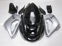 Wholesale Yamaha Thunderace - 3 Gifts New ABS Fairing set 100% Fit For YAMAHA Thunderace YZF1000R 1996 1997 1998 1999 2000 2001 2002 2003 2004 2005 2006 2007 silver cool