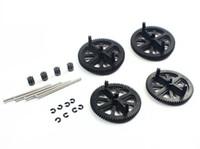 Wholesale Parrot Drone Gear - Parrot AR Drone 2.0 & 1.0 Quadcopter Spare Parts Motor Gears & Shafts Black