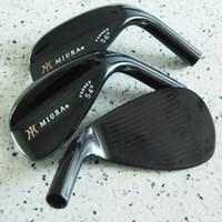 Wholesale Free Wedges - New mens Golf head MIURA Golf wedges head 52.56.60 3pcs lot wedges Clubs head Free shipping