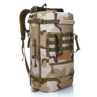 Wholesale Tactical Backpack Sizes - Large Size Hiking Bags Outdoor Backbags Multifunctional Tactical Backpacks 45L Shoulders Portable Bags Nylon Durable Hot Sale