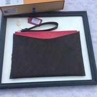 Wholesale Ipad Leather Bags - 2017 Brand WOmen Pallas luxury bag Satchel mens Card holder pocket capsule Wallet Genuine LEATHER PURSE CLUTCH CX#55 MINI Ipad Bags 60910