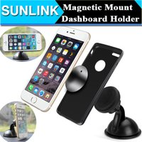 Universal Magnetic Car Phone Holder Parabrisas Dashboard Mount Sucker Stand Sticky Car Kit Para el iPhone Samsung todo el teléfono GPS