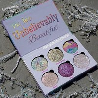 Wholesale Top Glitter Eyeshadow - Love Luxe Beauty Fantasy Palette Makeup You Are Unbelievably Beautiful highlighter 6 Colors Eyeshadow hot sell Top quality with best price !