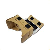 Wholesale free google cardboard for sale - HOT DIY Google Cardboard Mobile Phone Virtual Reality D Glasses Unofficial Cardboard Google Cardboard VR Toolkit D Glasses