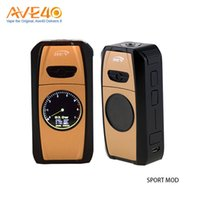 Authentic REV Sport 101W Box Mod Batterie incorporate 4200mAh Supporto Vape VS REV Nitro GTS Smok Qbox