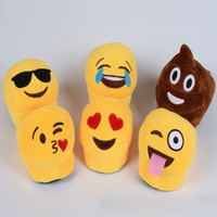 led slippers prices - Kids Emoji Soft Warm Indoor Cotton Slipper Cute QQ Expression Baby Shoes Emoji Parent-Child Half-Length Plush Led Shoes