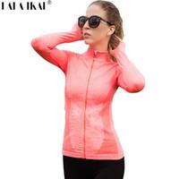 cba2b1b1266845 All ingrosso-palestra camicie donne campeggio all aperto sport estate  fitness escursionismo camicia esercizio femminile arrampicata sportiva  felpe donne ...