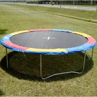 Wholesale 14 FT Trampoline Safety Pad EPE Foam Spring Cover Frame Replacement Multi Color
