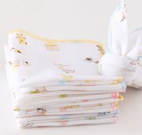 Wholesale Cotton Gauze Muslin - Cotton Baby Feeding Gauze Muslin Squares Washcloth baby handkercheif