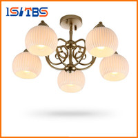 Wholesale Lamp Holder Hanging - Fashion Modern Pendant Lights 5 Lamp Holders 60W Restaurant Bar Living Room Pendant Lamps Kitchen Hanging Light Fixture