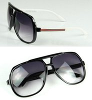 Wholesale New Fashion Brand Designer Men Women Sunglasses Big Frame Sun Glasses Eyewear Oculos De Sol
