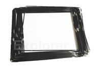 Wholesale Ipad Middle Frame - Original New Plastic Mid Frame middle bezel with adhesive Black White For Apple iPad 2 3 4 frame Bezel 50pcs Lot