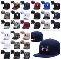 Wholesale Dance Hats - Brand UA Snapback Caps Casquette Adjustable Hat Football Men Women Hip hop fitted Basketball Baseball Hat Street Dancing 2017