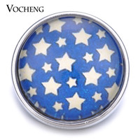 bprice-bprice prices - VOCHENG NOOSA 18mm Glass Snap Twinkle Little Star Interchangeable Button Vn-1201