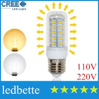 Wholesale Energy Efficient - CREE High Bright Led corn light E27 5730 36LEDs Corn LED Bulb 110V 220V 240V 12W Energy Efficient Spotlight Wall light 5730SMD