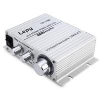 Wholesale Mp3 Input Amplifier - Lepy LP-V3 700W 12V Mini Hi-Fi Stereo Digital Power Amplifier MP3 Car Audio Speaker with 3.5mm Audio Input