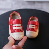 Wholesale Autumn Fashion For Kids - wengkk store kids fashion leather shoes 2017 hot casual shoes for baby top selling high quality free shipping