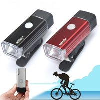 Wholesale Accessories Mtb Lamp - Portable LED USB MTB Road Bike Tail Light Taillight Rechargeable Bicycle Rear Light Lamp Cycling Bike Accessories
