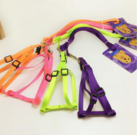 Wholesale Designer Dog Collars Leads - Pet Dog Car Seat Belt Collar Puppy Dogs Lead Designer Collars And Leashes Adjustable Portable 5 Colors Harness Rope for small Dogs
