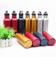 Wholesale Mini Beer Coolers - Beer Bottle Armour Koozie Keeper Stainless Steel Beer Cooler Sports Bottles Insulator With Bottle Opener 5 Colors 10pcs