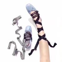 mais vendido venda por atacado-2017 outono e inverno mais quente-venda docinho macio confortável bailarina sapatos com duas fitas, 45 tipos de sapatilhas para escolher