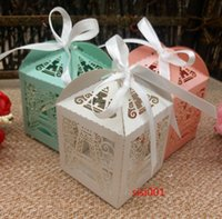 Wholesale Eiffel Tower Wrapping Paper - 50pcs Christmas Paris Eiffel tower paper wedding candy box,Party supplies wedding favors and gifts,baby shower favor gift box