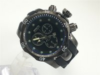 Wholesale New Arrival Silicone Date Watch - luxury brand watch AAA QUALITY New arrival Swiss brand INVICTA rotating dial outdoor sports men watch Luxury brand Silicone quartz watch