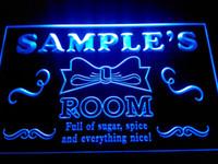 Wholesale Princess Sign - DZ006-b Name Personalized Custom Girl Princess Room Bar Neon Sign