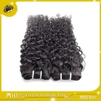 Wholesale Wholesale Brazilian Hair Bulk Sale - Clearance Sale!!Cheap 8A Peruvian Brazilian Indian Malaysian Hair Extension Virgin Hair Jerry Curly Hair Weft 8-30 inch Free Shipping