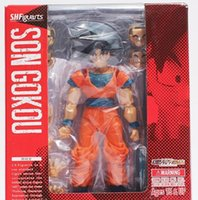 Wholesale Hot Anime SHFiguarts Dragon ball z Toy Figure Goku Figures Son goku PVC Action Figure Chidren Favorite Gifts cm