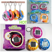 Wholesale Novelty Kids Games - Novelty Items Funny Toys Vintage Retro Game 49 Pets In One Virtual Pet Cyber Toy Tamagotchi Digital Pet Child Toy Retail Packaging