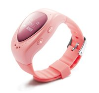 Wholesale Sos Panic - Long battery life gps tracker wrist watch gps tracking device for kids with SOS panic button gps kids tracker watch