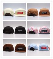 boş ayarlanabilir kapaklar toptan satış-Yeni Sıcak 5 Panel Şapka Boş, Klasik Çiçek Elmas erkek Snapback, kadınlar ayarlanabilir Elmas beyzbol kapaklar, Nakış Düz Şapka