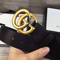 Wholesale G Belt For Women - Hot new Designer G Belts High Quality Designer Luxury Belt For Men And Women Genuine Leather Belt Gold Silver black colors Buckle for gift