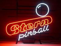 "Wholesale Pinball Light - Brand New Stern Pinball Real Glass Neon Sign Beer light 20X16"""