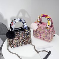 Wholesale Wholesale Purse Stylish - Two size Shoulder Bags Kids Small fashion purse Baby's new brands Messenger BAG kids hot wallets Women Stylish Mini Handbag CK154