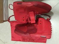 Venda a quente Hot Kanye West 2 Red October NRG RED PINK OCTUBRE Tênis de basquete Men With Box