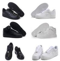 Wholesale One Euro - 2017 the top quality NEW men fashion the high top white air Casual shoes black love unisex one 1 free shipping euro 36-45