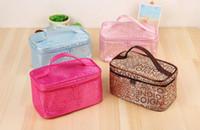 Wholesale Large Cosmetic Bag Box - Cosmetics Box Large Capacity Portable Travel Cosmetic Bag Multi Functional Tool Storage Handbag