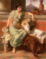 reproductions d'art achat en gros de-Fine Art Peinture à L'huile Reproduction Reproduction Giclée De Haute Qualité sur Toile Décor À La Maison GT16 (165)