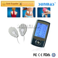 Wholesale Ems Stimulator - SUNMAS SM9027 Mini TENS Unit EMS Massage Machine Muscle Stimulation Electronic Stimulator for Full body Pain Relief