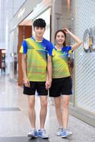 Wholesale Korea Women Clothes - 2016 New Victor Badminton clothes Women Men 1set , Korea Team Badminton Jerseys , Badminton men's uniforms 36160