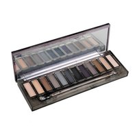 Wholesale nude smoky palette 12 color eyeshadow online - HOT Makeup Eye Shadow NUDE Smoky Palette Color Eyeshadow Palette g High quality DHL GIFT