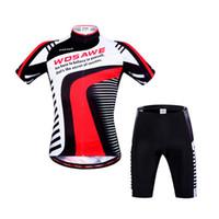 Wholesale Mens Short Pant - Reflective Mens Cycling Jerseys Shorts Sleeve Suits Mtb Shorts Biking 3D Padded Coolmax Gel Cycling Pants Summer Cycling Shorts Men Jeyseys