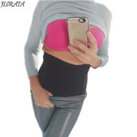 Wholesale Tummy Trimmers For Women - Wholesale- FLORATA Body Shaper Slimming Waist Trainer for Women Weight Loss Belts-Adjustable Slimming Lumbar Tummy Trimmer Abdomen Binder