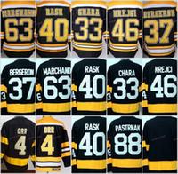 Wholesale Boston Grey - Winter Classic Boston Bruins Jerseys Hockey 33 Zdeno Chara 37 Patrice Bergeron 40 Tuukka Rask 46 David Krejci 63 Brad Marchand 88 Pastrnak