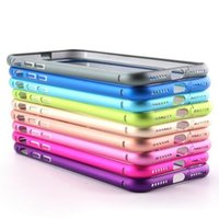 Wholesale Thinnest Metal Iphone 5s Bumpers - Aluminum Metal Hard Case Slim Ultra Thin Frame Bumper For iPhone 7 6 6S Plus 7plus SE 5 5S