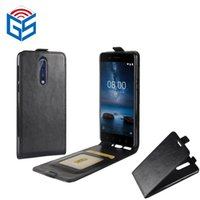 Wholesale Lowest Prices Wholesale Phone Accessories - Factory lowest price 2017 hot sell cell phone and accessories leather flip cover case for nokia 8